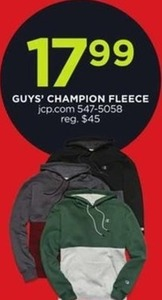 Guys' Champion Fleece