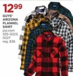 Guys Arizona Flannel Shirt
