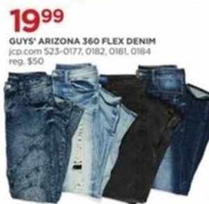 Guys Arizona 360 Flex Denim