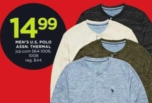 Men's US Polo Assn. Thermal