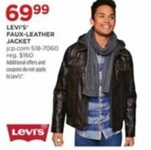 Levi's Faux-Leather Jacket