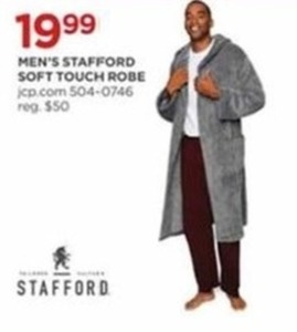 Men's Stafford Soft Touch Robe
