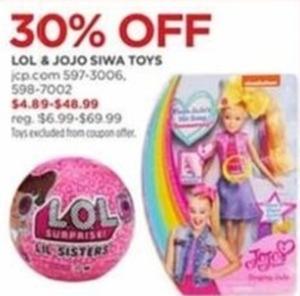 LOL & Jojo Siwa Toys