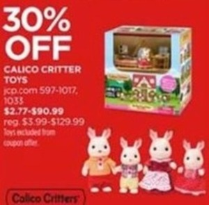 Calico Critter Toys