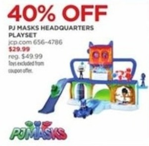 PJ Masks Headquarters Playset