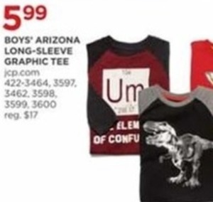 Boys' Arizona Long-Sleeve Graphic Tee