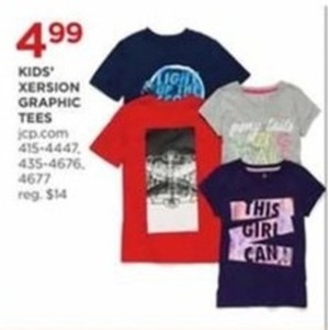 Kids' Xersion Graphic Tees