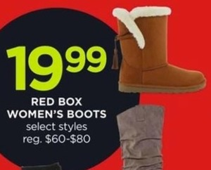 Red Box Women's Boots
