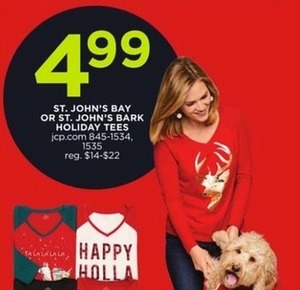 St. John's Bay or St. John's Bark Holiday Tees