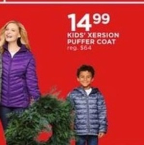 Kids' Xersion Puffer Coat