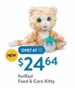 Fur Real Feed Care Kitty