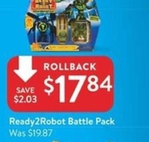 Ready2 Robot Battle Pack