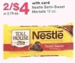 Nestle Semi-Sweet Morsels w/Card