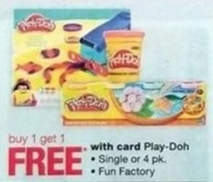 Play-Doh w/Card
