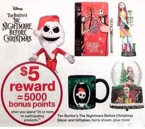 $5 Reward when you spend $20 or more on participating products