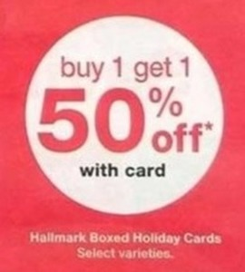 Hallmark Boxed Holiday Cards w/Card