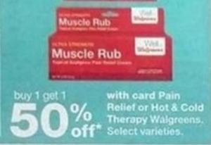 Pain Relief or Hot & Cold Therapy w/Card