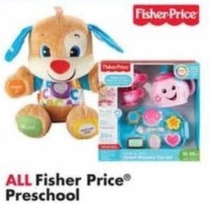 All Fisher Price Preschool