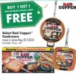 Select Red Copper Cookware