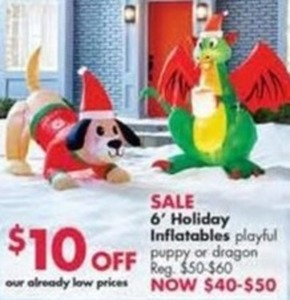 6' Holiday Inflatables