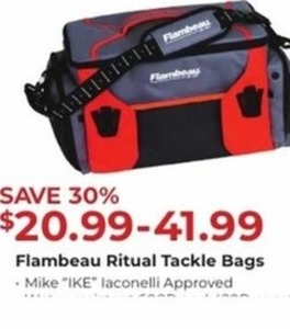 Flambeau Ritual Tackle Bags