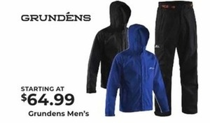 Grunden's Men's Apparel