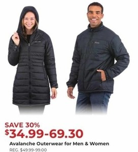 Avalanche Outerwear for Men and Women