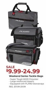 Plano Weekend Series Tackle Bags