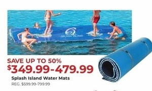 Splash Island Water Mats