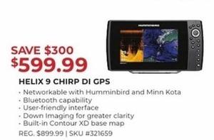 Helix 9 CHIRP DI GPS