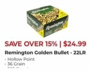 Remington Golden Bullet 22LR