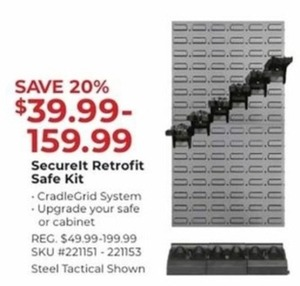 SecureIt Retrofit Safe Kit