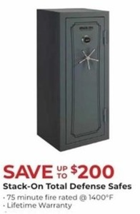Stack-On Total Defense Safes