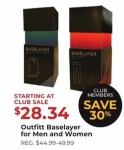 Outfitt Baselayer For Men And Women