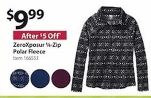 ZeroXposur 1/4-Zip Polar Fleece