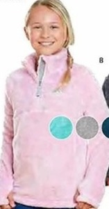 Zero Xposur Girls' Fleece Pullover