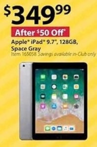 "Apple 9.7"" 128GB iPad"