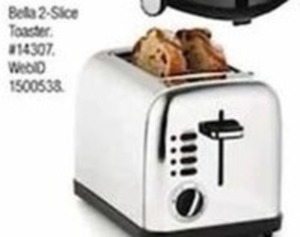 Bella 2-Slice Toaster