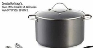 Tools of the Trade 8-Qt. Casserole After Rebate