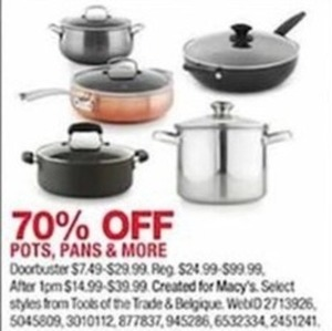 Pots, Pans and More
