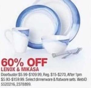 Lenox & Mikasa