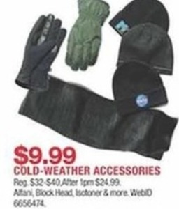 Cold Weather Accessories