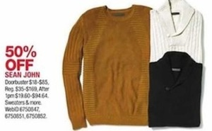 Sean John Sweaters and More
