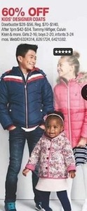Kids' Designer Coats from Select Brands