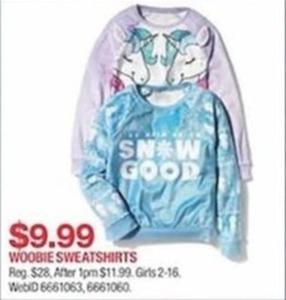 Woobie Sweatshirts