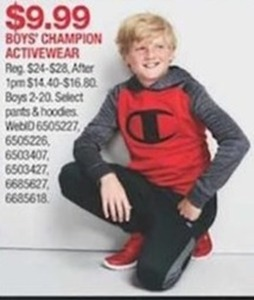 Boys' Champion Activewear