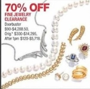 Fine Jewelry Clearance