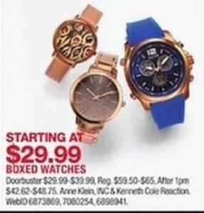 Boxed Watches