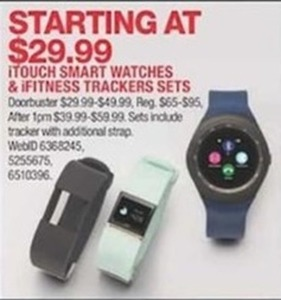 iTouch Smart Watches & iFitness Tracker Sets