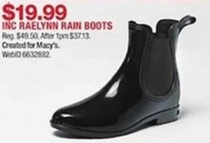 Inc Raelynn Rain Boots